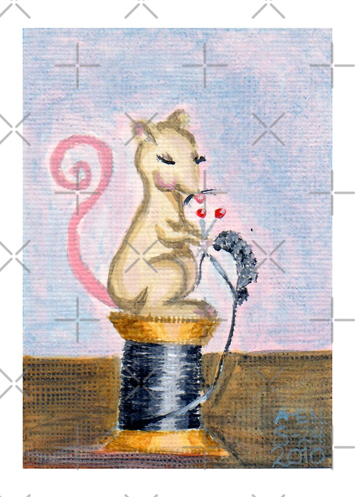 Miss Mouse Knitting by Amy-Elyse Neer
