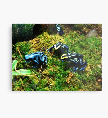 Blue Army Metal Print