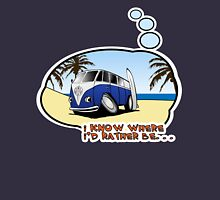 Volkswagen Tee Shirt - I Know Where I'd Rather Be Unisex T-Shirt