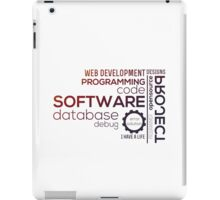Programmer : Typography Programming -  color iPad Case/Skin