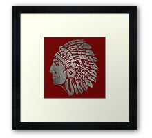 indian apache Framed Print