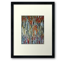 Blood and Bamboo Framed Print