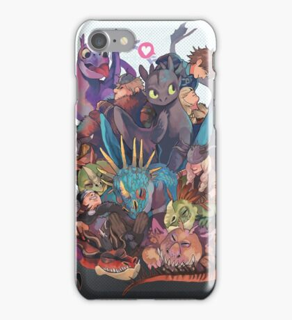 How to train your dragon iPhone Case/Skin