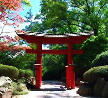Japanese Garden Entrance by Mattie Bryant