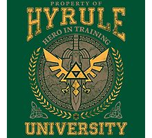 Hyrule University Photographic Print