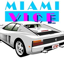 Ferrari Testarossa from Miami Vice by car2oonz