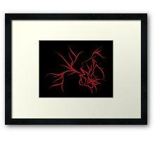 Red plethora Framed Print