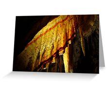 Cave Shawl - Chifley Cave Greeting Card