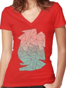 Bodhi Rays Women's Fitted V-Neck T-Shirt