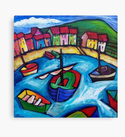BEACH HOUSES IN WHANGAPAROA - NEW ZEALAND  Canvas Print