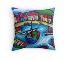 BEACH HOUSES IN WHANGAPAROA - NEW ZEALAND  Throw Pillow