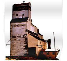 Fox Valley Grain Tower Poster