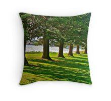 Isle of Pines Throw Pillow