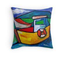 FISHING IN CAPRI - ITALY  Throw Pillow