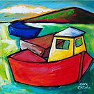 FISHING IN NAPLES - ITALY by ART PRINTS ONLINE         by artist SARA  CATENA