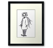 Tele-Angel Framed Print