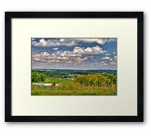 Wisconsin Landscape Framed Print