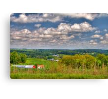 Wisconsin Landscape Canvas Print