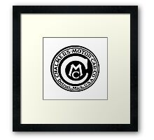 Classic Car Logos: Chalmers Automobile Framed Print