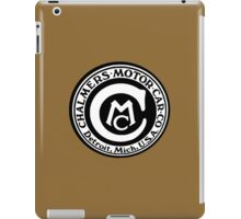 Classic Car Logos: Chalmers Automobile iPad Case/Skin