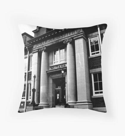 Nutana Collegiate Throw Pillow