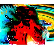 Inkblot Test With a Twist Photographic Print