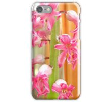 Dying hyacinth iPhone Case/Skin