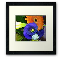Fab Flowers Flaunting their Fantasticness Framed Print