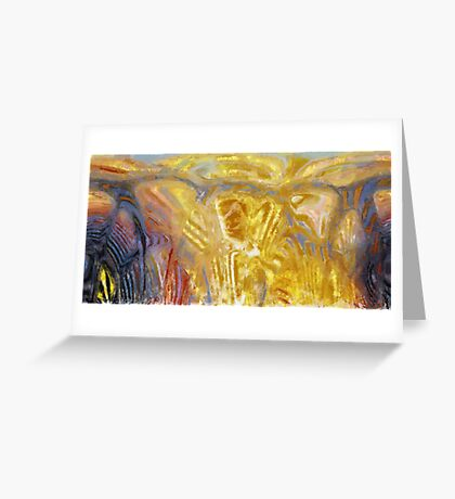 untitled abstract.. Greeting Card