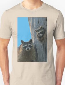 Mom & Baby Raccoon Unisex T-Shirt