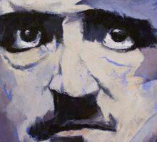 Portrait of Edgar Allan Poe Sticker