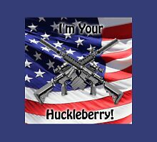 American Flag with Guns Unisex T-Shirt
