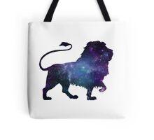 Nebula in a Lion Tote Bag