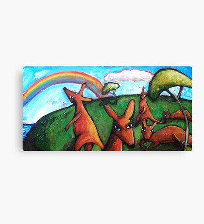 KANGAROO  DREAMS   Canvas Print