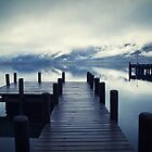 Tranquility - Lake Wakatipu NZ by Dean Mullin
