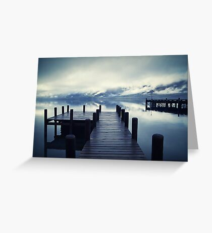 Tranquility - Lake Wakatipu NZ Greeting Card