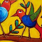 LEARNING TO FLY   by ART PRINTS ONLINE         by artist SARA  CATENA