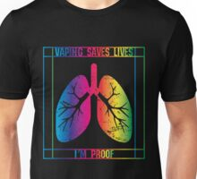 Distressed I'm Proof (colorful) Unisex T-Shirt