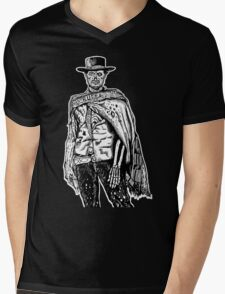 The Good The Bad and The Zombie Mens V-Neck T-Shirt