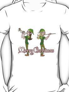 Elves Play Christmas Carols T-Shirt