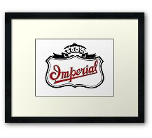 Classic Car Logos: Imperial Automobile Company Framed Print