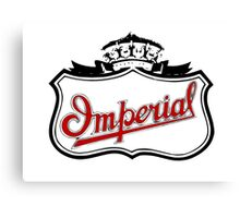 Classic Car Logos: Imperial Automobile Company Canvas Print