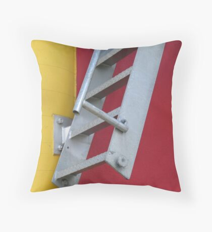Melbourne - Ladder on top of Council House 2 Throw Pillow