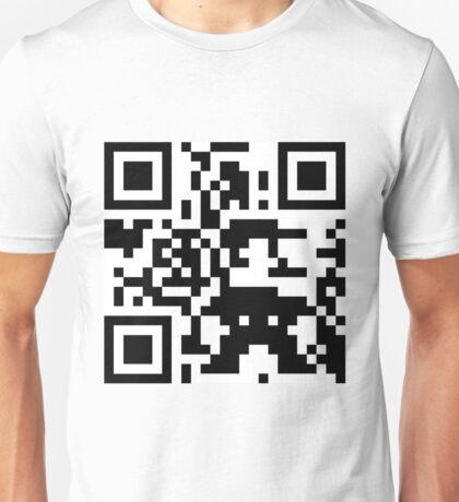 Mario QR Code 8-Bit Unisex T-Shirt