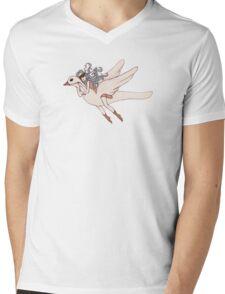 Flight of Fancy Mens V-Neck T-Shirt