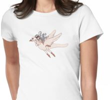 Flight of Fancy Womens Fitted T-Shirt