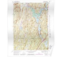 Massachusetts  USGS Historical Topo Map MA Wales 350669 1967 24000 Poster