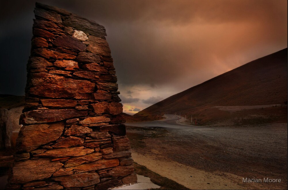 Crown Range Monument by Marian Moore