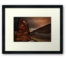 Crown Range Monument Framed Print