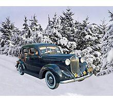 Coming Home for Christmas Photographic Print